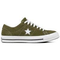 Converse One Star Suede Ox - Khaki/White , Khaki/White, Size 12, Women