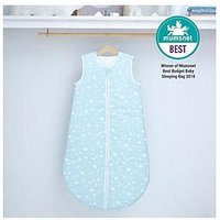 Silentnight Silentnight 2.5 tog Jersey Sleeping Bag 0-6 months, Duck Egg