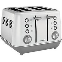 Morphy Richards Evoke 4 Slice Toaster White
