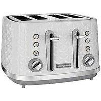 Morphy Richards Vector 4 Slice Toaster White