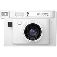 Lomography Lomo'Instant Wide Camera - White - Instant Camera With 20 Pack Of Paper