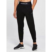 Calvin Klein Performance Knit Jogger, Black, Size L, Men