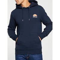 Ellesse Toce Pullover Hoodie, Dress Blues, Size S, Men