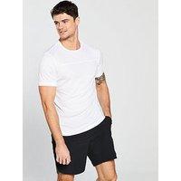 Calvin Klein Performance Performance T-Shirt, Bright White, Size Xl, Men