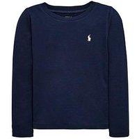 Ralph Lauren Girls Classic Long Sleeve T-Shirt - Navy, Navy, Size Age: 16 Years=Xl, Women