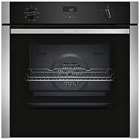 Neff B4Acf1An0B 60Cm Built-In Slide&Amp;Hide&Reg; Electric Single Oven With Circotherm&Reg; - Stainless Steel