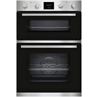 Neff U1Hcc0An0B Built-In Double Oven - Stainless Steel