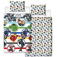 Disney Marvel Avengers Strong Duvet Cover Set - Double, Multi