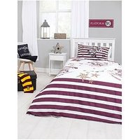 Product photograph showing Harry Potter Muggles Duvet Cover Set - Single
