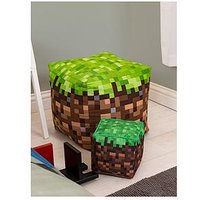 Product photograph showing Minecraft Build Bean Cube