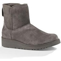 UGG Kristin Suede Ankle Boot - Grey, Grey, Size 8, Women