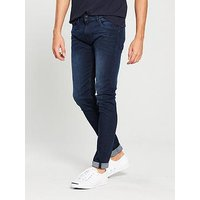 Replay Replay Jondrill Skinny Power Stretch Jeans, Dark Wash, Size 36, Length Long, Men