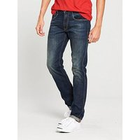 Replay Anbass Slim Stretch Jeans, Mid Wash, Size 30, Length Long, Men