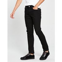 Calvin Klein Jeans Ck Jeans Skinny Fit Jean, Stay Black, Size 30, Length Regular, Men