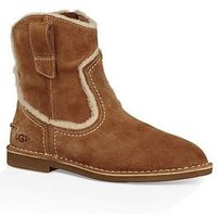UGG Catica Suede Ankle Boot, Chestnut, Size 6, Women