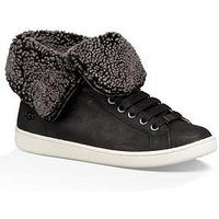 UGG Starlyn Fold Up Or Down Ankle Boot, Black, Size 7, Women