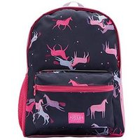 Joules Girls Unicorn Printed Backpack, One Colour