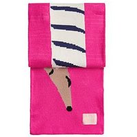 Joules Girls Sausage Dog Scarf, One Colour