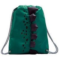 Joules Boys Dinosaur Drawstring Bag, One Colour
