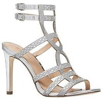 CALL IT SPRING Call It Spring Ailiwia Strappy Heeled Sandal, Silver, Size 4, Women