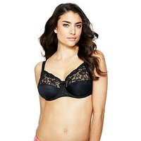 Fantasie Helena Underwired Full Cup Bra - Black, Black, Size 34G, Women