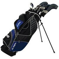 Ben Sayers M8 Package Set -stand Bag - Mens's Right Hand + 1 Inch, Blue, Men