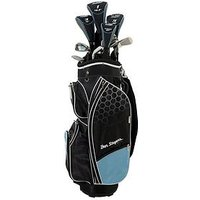 Ben Sayers M8 Package Set Cart Bag Youths Ladies Left Hand, Sky Blue, Women