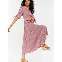 Monsoon Dolly Gingham Midi Dress
