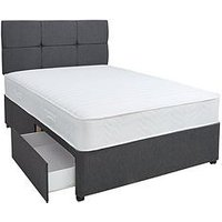Airsprung New Eleanor 1200 Ortho Memory Divan With Storage Options