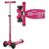 Micro Scooter Maxi Micro Deluxe &Ndash; Pink