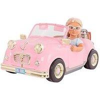 Our Generation Glitter Girls Retro Car For 18 Inch Dolls