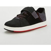 Timberland Davis Square Oxford plimsoll, Black, Size 2 Older