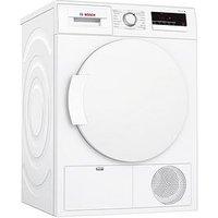 Bosch Wtn83200Gb 8Kg Condenser Sensor Tumble Dryer - White