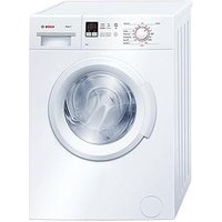 Bosch Serie 2 Wab28261Gb 6Kg Load, 1400 Spin Washing Machine With Activewater&Trade; Technology - White