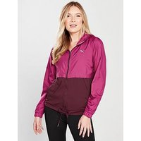 Puma Train It Jacket Q4 - Magenta/Fig , Multi, Size Xxs/6, Women