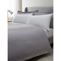 Ideal Home Egyptian Cotton 200 Thread Count Oxford Edge Duvet Cover Set