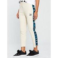 Puma Revolt Sweat Pant - Beige , Beige, Size S/10, Women
