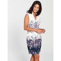 Phase Eight Dina Floral Dress - Multi, Multi, Size 12, Women