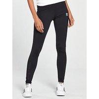 adidas Originals Winter Ease Leggings - Black, Black, Size 14, Women