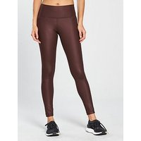 adidas Believe This High Rise Tight - Maroon, Wine, Size M, Women