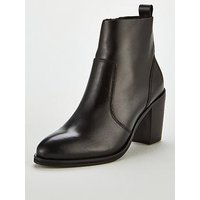 OFFICE Aberdeen Ankle Boot, Black, Size 7, Women