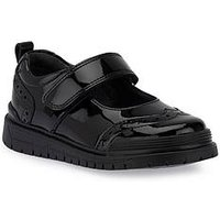 Start-rite Spring Girls Bts Shoe, Black Patent, Size 8 Younger