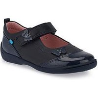 Start-rite Swing Girls Shoes - Navy, Navy, Size 8 Younger