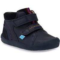 Start-rite Burst Boys First Ankle Boot, Navy, Size 4.5 Younger