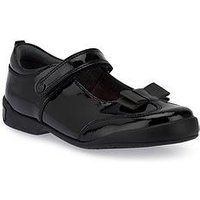 Start-rite Pulse Girls Bts Shoe, Black Patent, Size 13 Younger