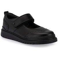 Start-rite Spring Girls Bts Shoe, Black, Size 1.5 Older