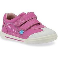 Start-rite Flexy Soft Turin Plimsoll, Bright Pink, Size 8 Younger