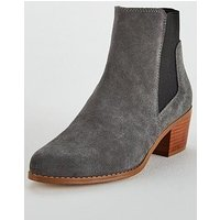 KG Spider 2 Chelsea Ankle Boot, Grey, Size 4, Women