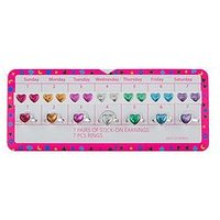 Mini V by Very Girls Multi Pack Stick On Jewellery, One Colour