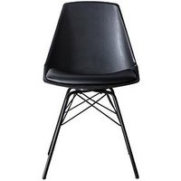 Hudson Living Finchley Set Of 4 Dining Chairs- Black
